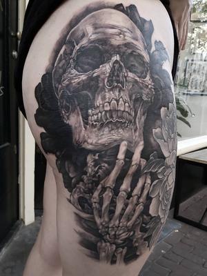 Digz - Tattoo 1825 - Tattooed Travels: Amsterdam, Netherlands #tattooedtravels #travel #Amsterdam #Netherlands