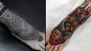 Walk This Earth With Good Intentions: Foot Tattoos