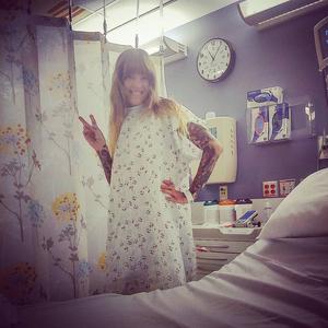 Hanna Sandstrom captured by Jamie King #HannaSandstrom #tattooartist #fundraiser #GoFundMe #cancer #cancerawareness #fuckcancer