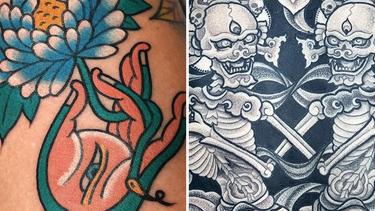 Buddhist Tattoos to Enlighten: Om Shanti, Om Shanti