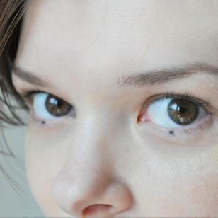 Eye dot tattoos by Indy Voet on Morgan English aka Tattrx #IndyVoet #MorganEnglish #Tattrx #tattoocollector #dotwork #facetattoo #eyetattoo