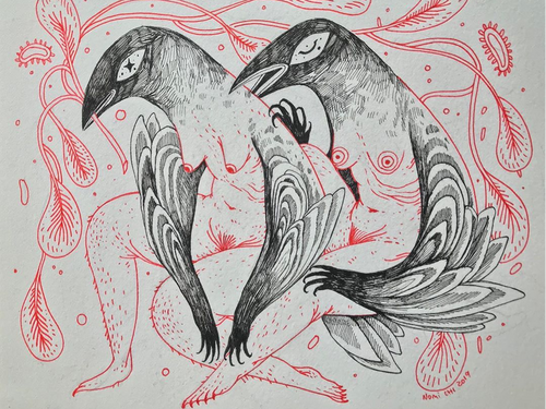 Artwork by Nomi Chi #NomiChi #coverupsagainstabuse #coveruptattoos #coverup #tattoocommunity #tattooartist