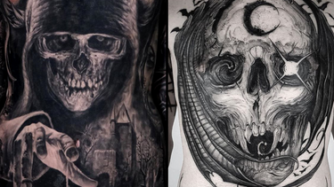 Horror Tattoos for Friday the 13th: Serial Killers and Scream Queens