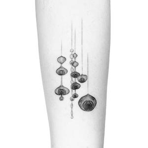 Illustrative tattoo by Peter Laeviv #PeterLaeviv #realism #illustrative #linework #intricate #detailed #fineline #abstract #ruthasawa #sculpture