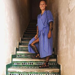Tattoo artist Delia Vico #DeliaVico #femaletattooartist #femaletattooers #womxn