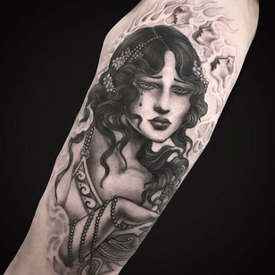 Portrait tattoo by Miss Juliet #MissJuliet
