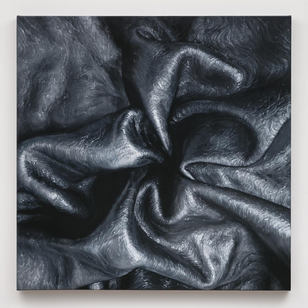 Leather painting by Tamara Santibanez #TamaraSantibanez