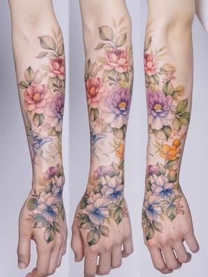 Hand and forearm tattoo by Silo #Silo #TattooistSilo