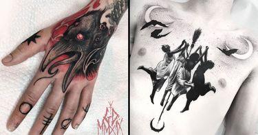 Halloween Tattoos: No Tricks, All Treats
