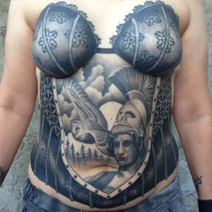 Mastectomy tattoo for Sheila by Ron Mor #RonMor #mastectomytattoo #mastectomyscarcoveruptattoo #scarcoveruptattoo #nippletattoo #mastectomy