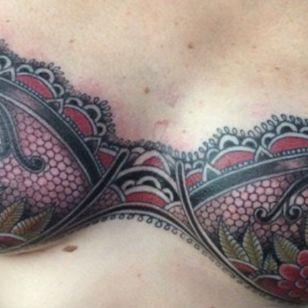 Mastectomy tattoo by Shane Wallin #ShaneWallin #mastectomytattoos #mastectomy #mastectomyscarcoverup #scarcoveruptattoo
