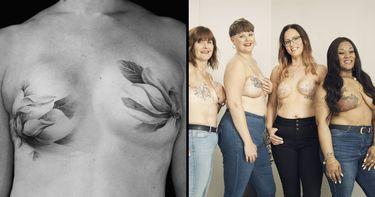 Breast Cancer Awareness: Mastectomy Tattoo Artists