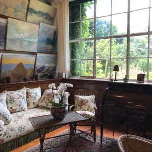 Inside Monet's home - Tattooed Travels: Paris, France #paris #france #paristattoo #paristattooartist #paristattooshop #tattooparis