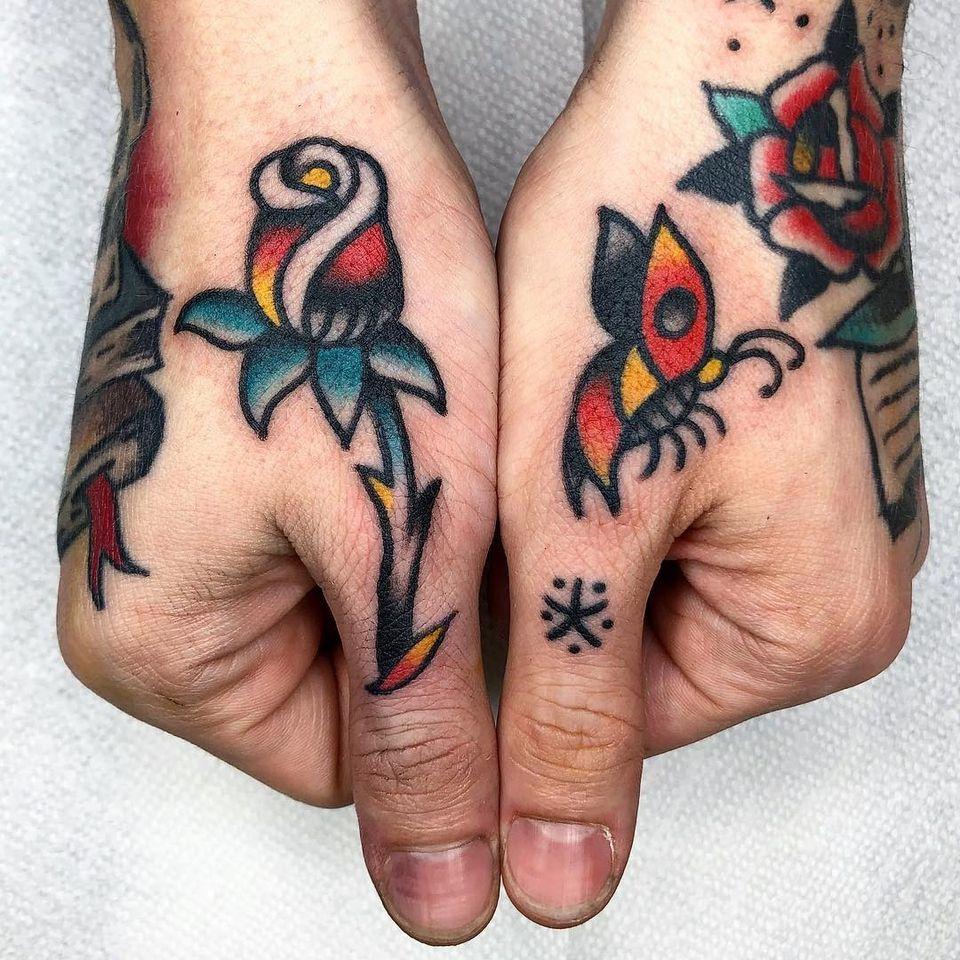 Rose tattoo by Jason Ochoa #JasonOchoa #rosetattoo #rosetattoos #rosetattooidea #rose #roses #flower #floral #petals #plant #nature #bloom