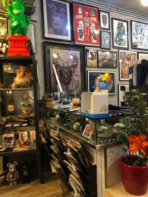 Hong Kong tattoo shop The Company #TheCompany #HongKongtattooshop #HongKong