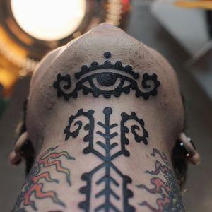 Blackwork tattoo by James Lau of The Company in Hong Kong #JamesLau #TheCompany #HongKongtattooshop #HongKong