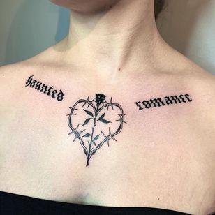Rose tattoo by Ellepleure #Ellepleure #rosetattoo #rosetattoos #rosetattooidea #rose #roses #flower #floral #petals #plant #nature #bloom