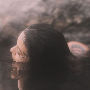Portrait of Marilyn Rondon by Evan Tetreault #MarilynRondon #EvanTetreault #tattoocollector #tattoomodel