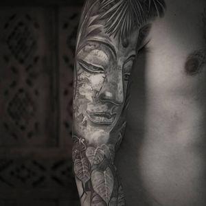 Buddha tattoo by Goran Ivic #GoranIvic #paris #france #paristattoo #paristattooartist #paristattooshop