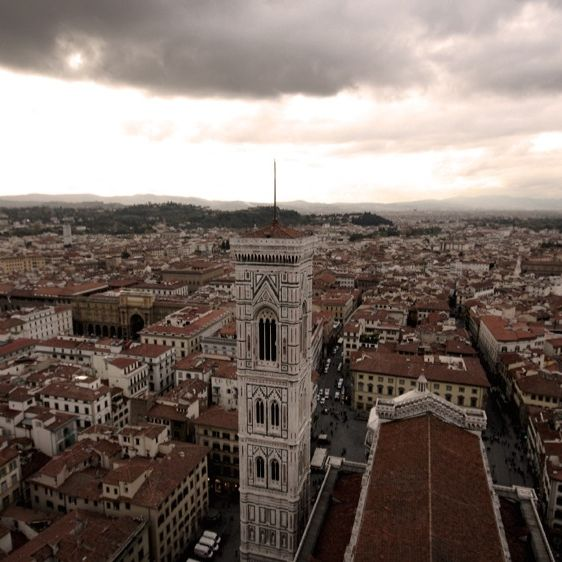 Florence seen from Brunelleschi's Dome - a view of the city that hosts the 12th Florence Tattoo Convention #12thFlorenceTattooConvention #FlorenceTattooConvention #Florence