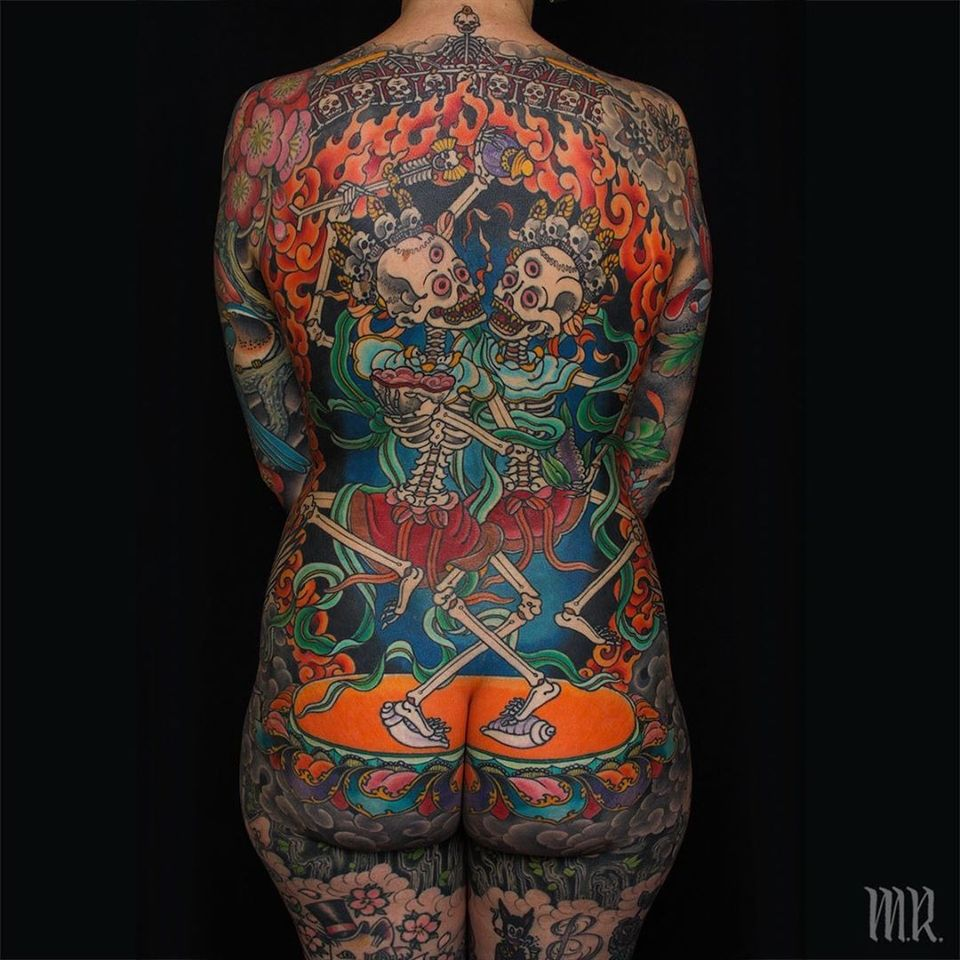 Fire tattoo by Mike Rubendall #MikeRubendall #firetattoos #firetattoo #fire #flames
