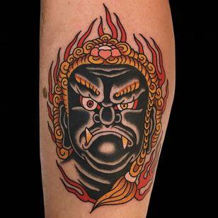 Fire tattoo by Alex Zampirri #AlezZampirri #firetattoos #firetattoo #fire #flames