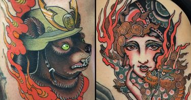 Creation, Destruction and Purification: Fire Tattoos