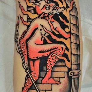 Fire tattoo by Rafa Decraneo #RafaDecraneo #firetattoos #firetattoo #fire #flames