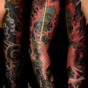 Fire tattoos by Shane Tan #ShaneTan #firetattoos #firetattoo #fire #flames