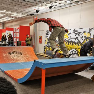 Skatepark at the 12th Florence Tattoo Convention #12thFlorenceTattooConvention #FlorenceTattooConvention #Florence