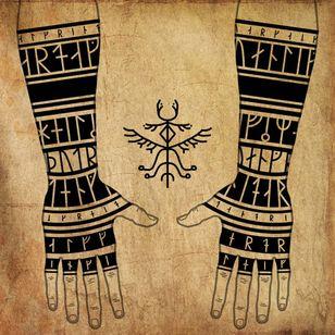 Viking symbology artwork by Harbardart #Hardbardart #vikingtattoo #viking #norse #norsemythology #norsesymbols #symbols