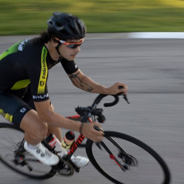 Justin McQuerry racing in his hometown of Austin, TX. #diabetictattoo #diabetictattoos #diabetic #procycling
