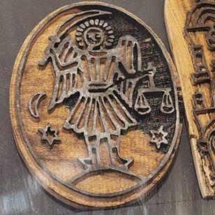Coptic Christian Tattoo stencil block belonging to Wassim Razzouk of Razzouk Tattoo #WassimRazzouck #RazzouckTattoo #coptictattoo #coptic #christiantattoo #12thFlorenceTattooConvention #FlorenceTattooConvention #Florence