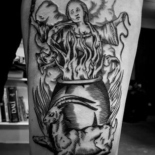 Fire tattoo by Haervaerk #Haervaerk #firetattoos #firetattoo #fire #flames