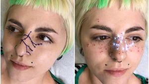 AstroFrecks by Jessica Knapnick aka Magick Brows: creator of AstroFrecks #Astrofrecks #JessicaKnapnik #MagickBrows #permanentmakeup #cosmetictattooing #cosmetictattoo