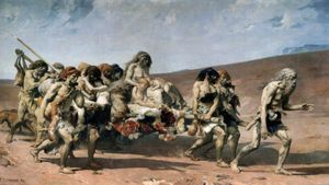 Fernand Cormon – Cain #Esoteric #Esoterictattoo #Esoterictattoos #Painting