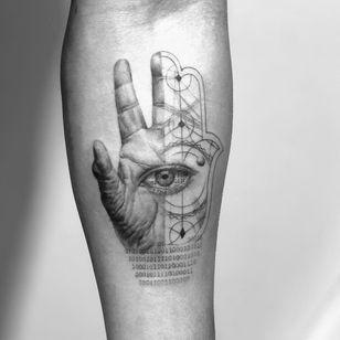 All seeing eye tattoo by Wookjin Playhouse #WookjinPlayhouse #allseeingeye #allseeingeyetattoo #eye #eyetattoo #eyeball