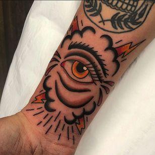 All seeing eye tattoo by mcilvennytattooer #mcilvennytattooer #allseeingeye #allseeingeyetattoo #eye #eyetattoo #eyeball