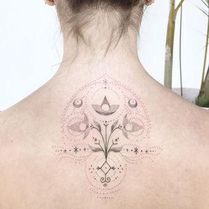 Hand poke tattoo by Ink and Earth #InkandEarth #handpoke #handpoketattoo #stickandpoke #stickandpoketattoo