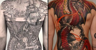 Magical Beings, Folkloric Forces: Dragon Tattoos