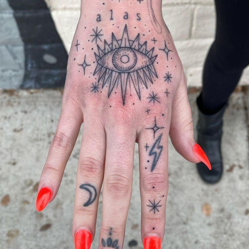 All seeing eye tattoo by becky g tattoos #beckygtattoos #allseeingeye #allseeingeyetattoo #eye #eyetattoo #eyeball
