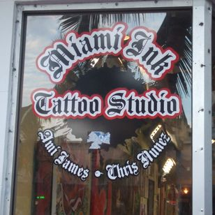 Ami James and Chris Nunez Miami tattoo studio #AmiJames #ChrisNunez
