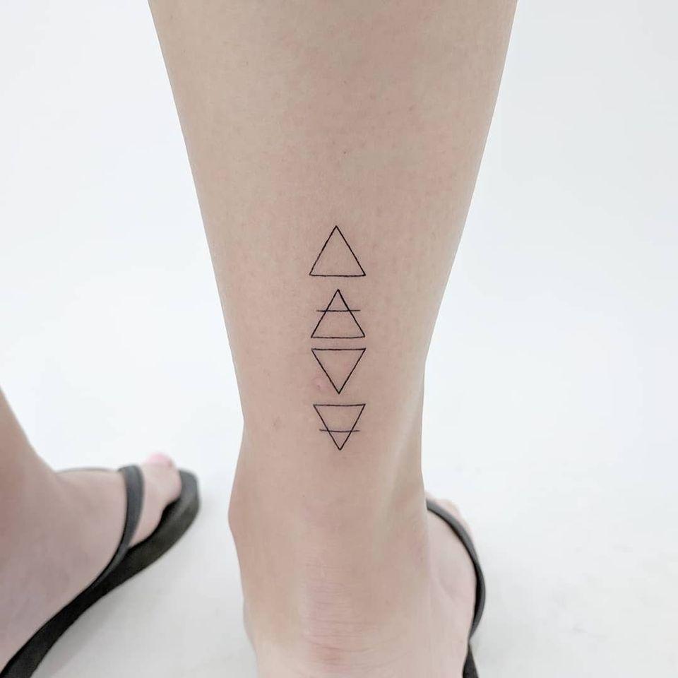 Element tattoo by Francis aka illisit #illisit #AlchemyTattoo #Fineline #4elements #Fire #Earth #Water #Air