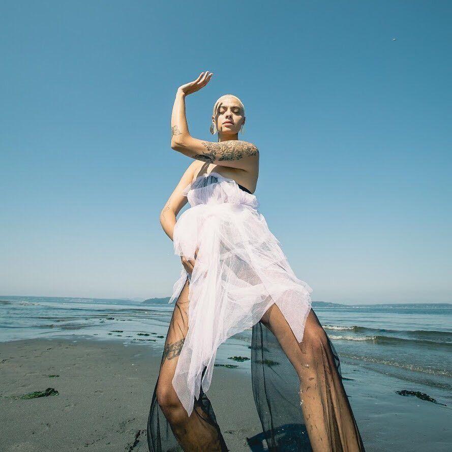 Tirzah Athena photographed by Marika Tzantarmas #TirzahAthena #MarikaTzantarmas #tattoomodel #tattooedmodel