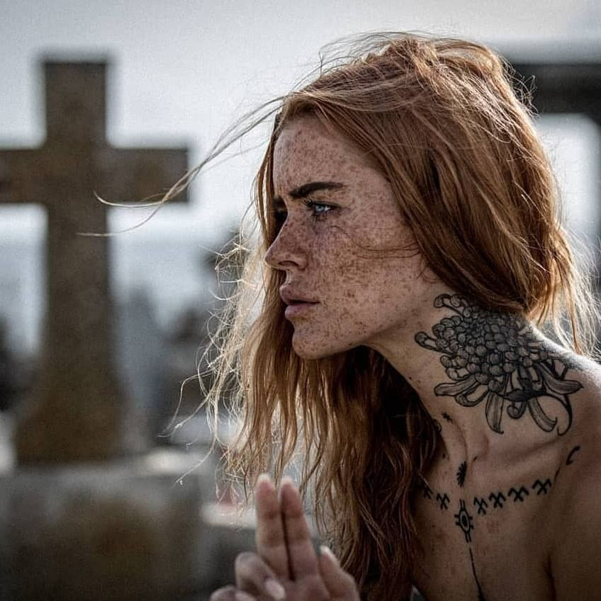 Polly Ellens photographed by Benjamin Murray #PollyEllens #BenjaminMurray #tattoomodel #tattooedmodel