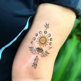 All seeing eye tattoo by Claudia Riddiford #ClaudiaRiddiford #allseeingeye #allseeingeyetattoo #eye #eyetattoo #eyeball