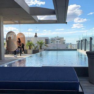 Poolside at Urbanica Hotel #UrbanicaHotel #miami #florida
