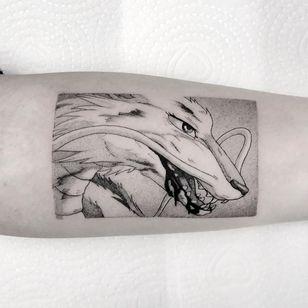 Haku dragon tattoo by Marcel Meira #MarcelMeira #haku #hakudragontattoo #studioghibli #spiritedaway #dragontattoos #dragontattoo #dragon #mythicalcreature #myth #legend #magic #fable