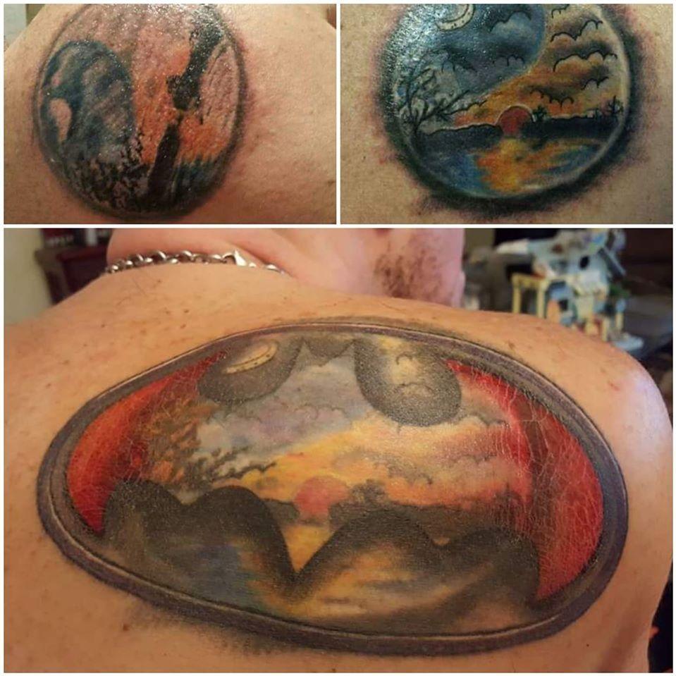 Artist(s) unknown #tattooregret #tattoocoverup #regrettattoo