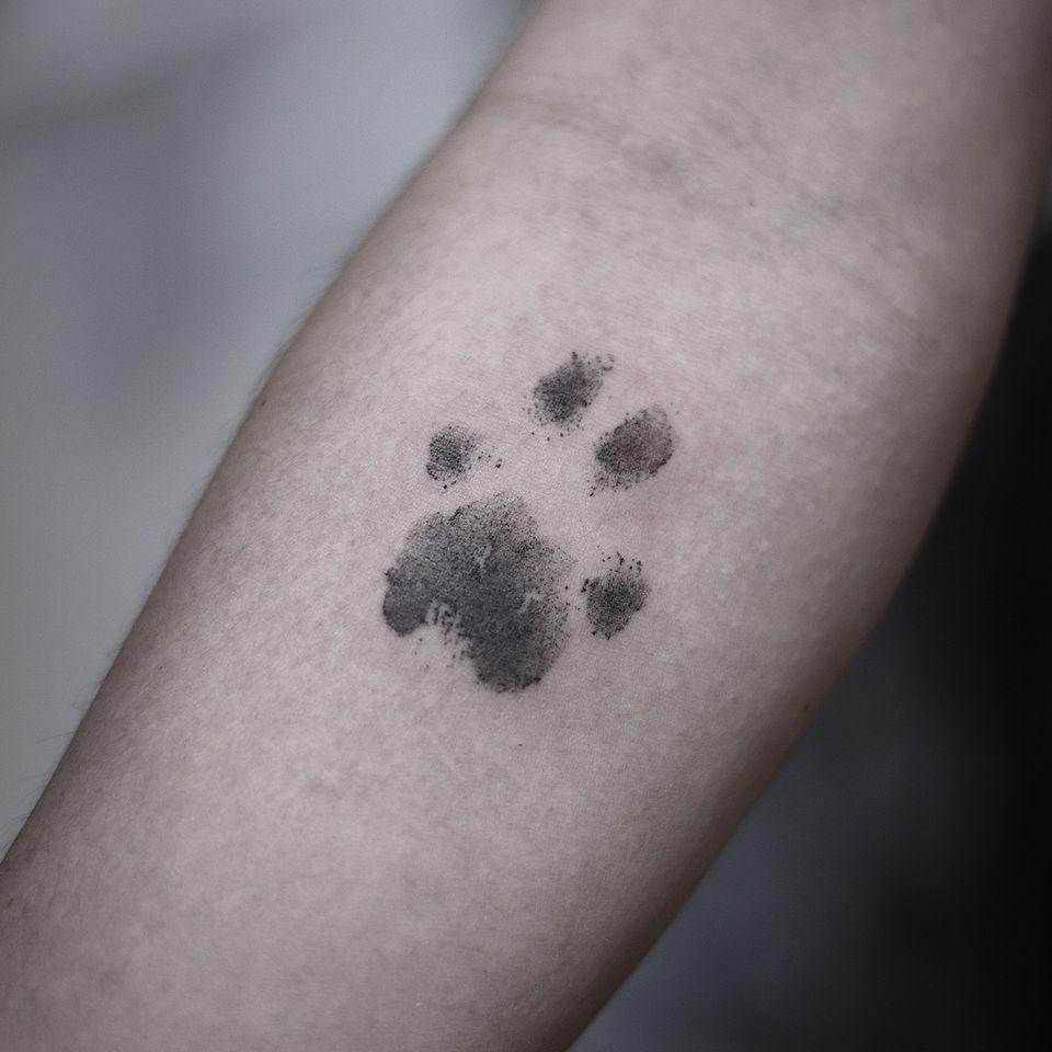Cat paw tattoo by OC Tatt #OCTatt #catpawtattoo #catpaw #cattattoos #cattattoo #kittytattoo #kitty #cat #petportrait #animal #nature